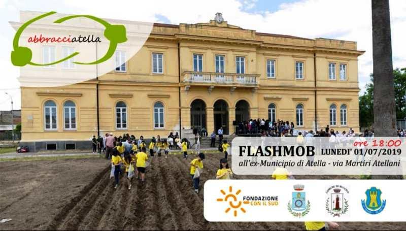 atella municipio falsh mob