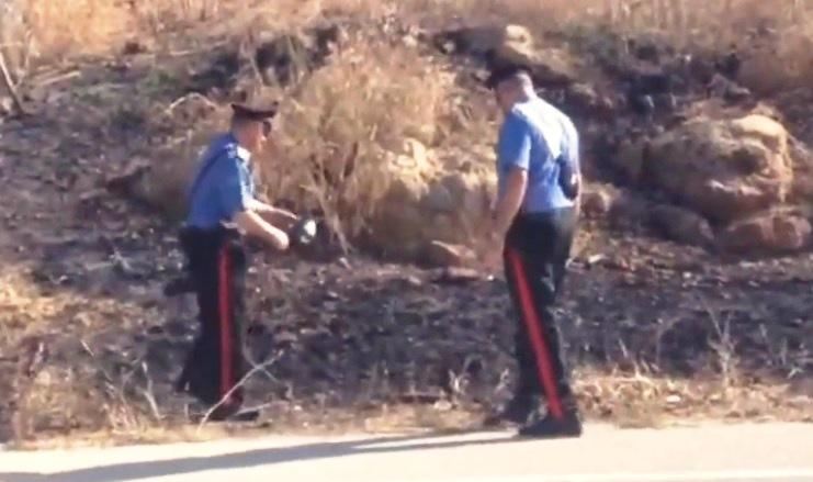 incendio carabinieri