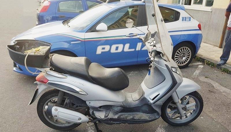 polizia scooter