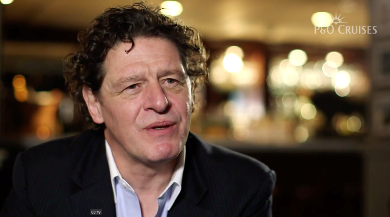 P&O Cruises – Marco Pierre White 1