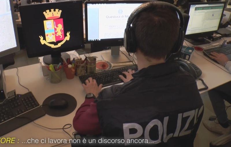 polizia intercettazione