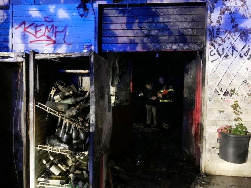 roma incendio baraka