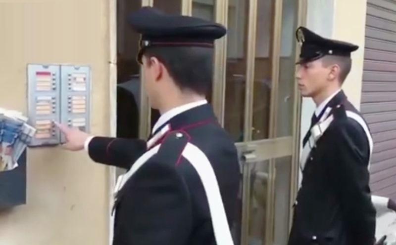 reggio calabria truffe carabinieri citofono