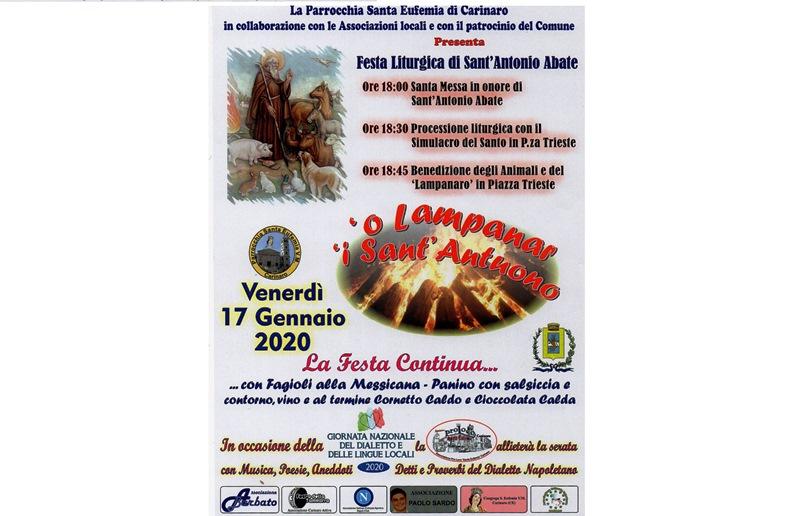 Festa S.Antonio 2020 carinaro