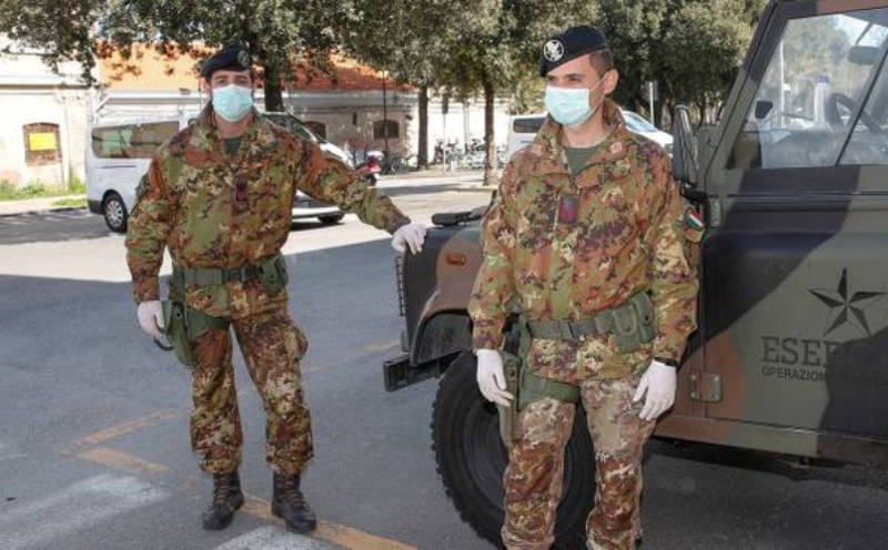 esercito coronvirus
