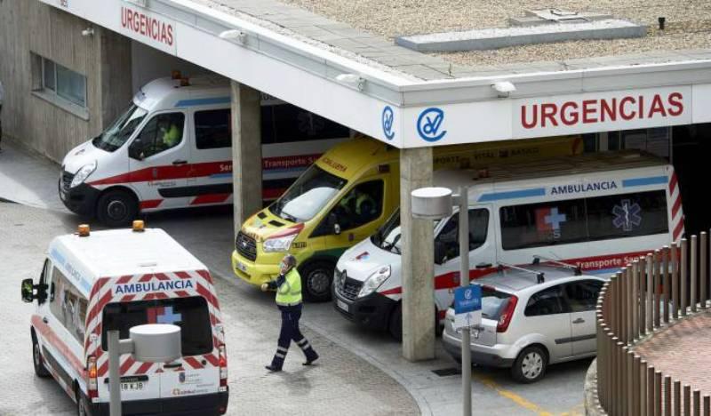 spagna ambulanza