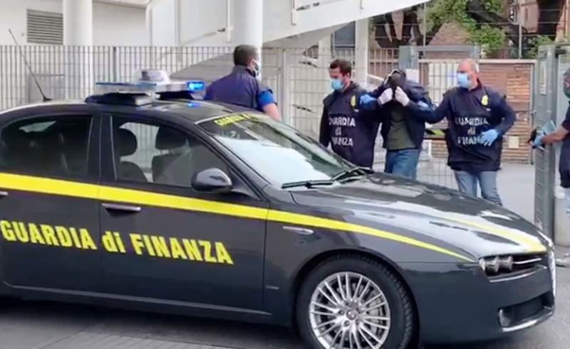 finanza arresto