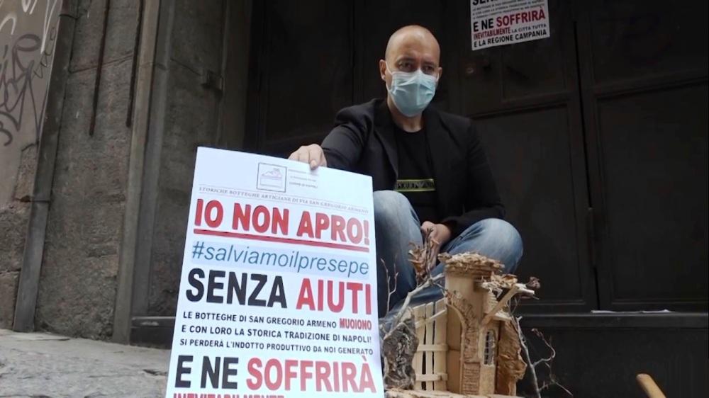 protesta san gregorio armeno