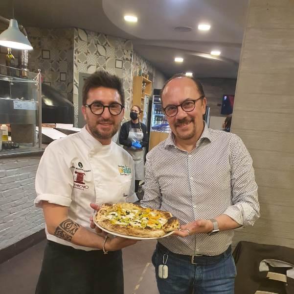 Giacomo Garau con Maurizio Casagrande