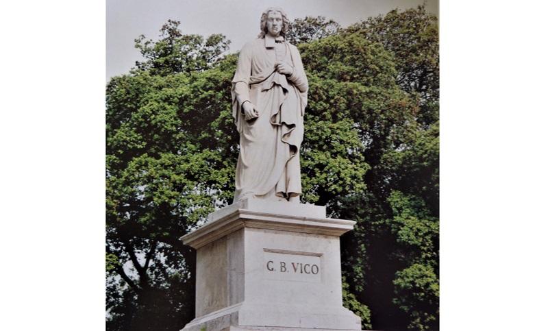 O. Buccini (ed altri), Monumento a Giambattista Vico, Villa Comunale, Napoli
