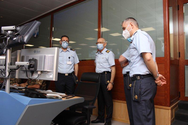il Capo di SMA visita la sala operativa del 22 Gruppo Radar