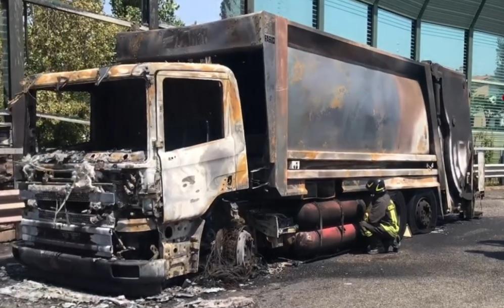 camion incendio