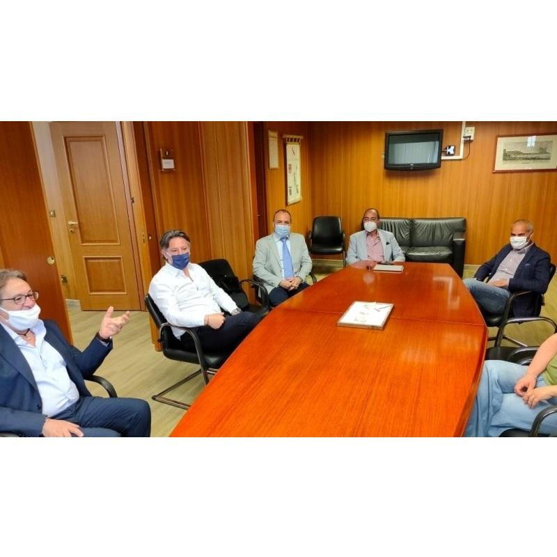 Assocampania, Enzo Speranza e lo staff a colloquio con l'Onorevole Antonio Marciano