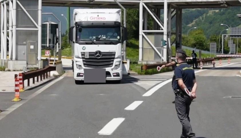 camion tir finanza
