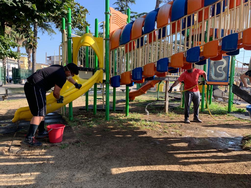 gricignano pulizia parco us navy (12)