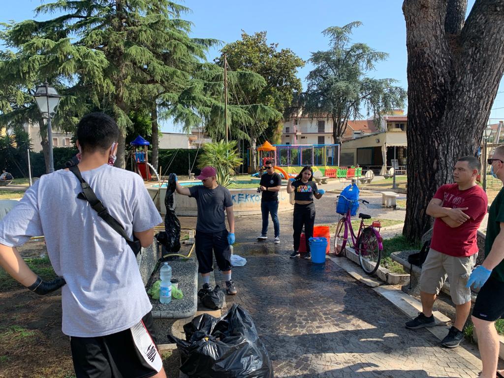 gricignano pulizia parco us navy (6)