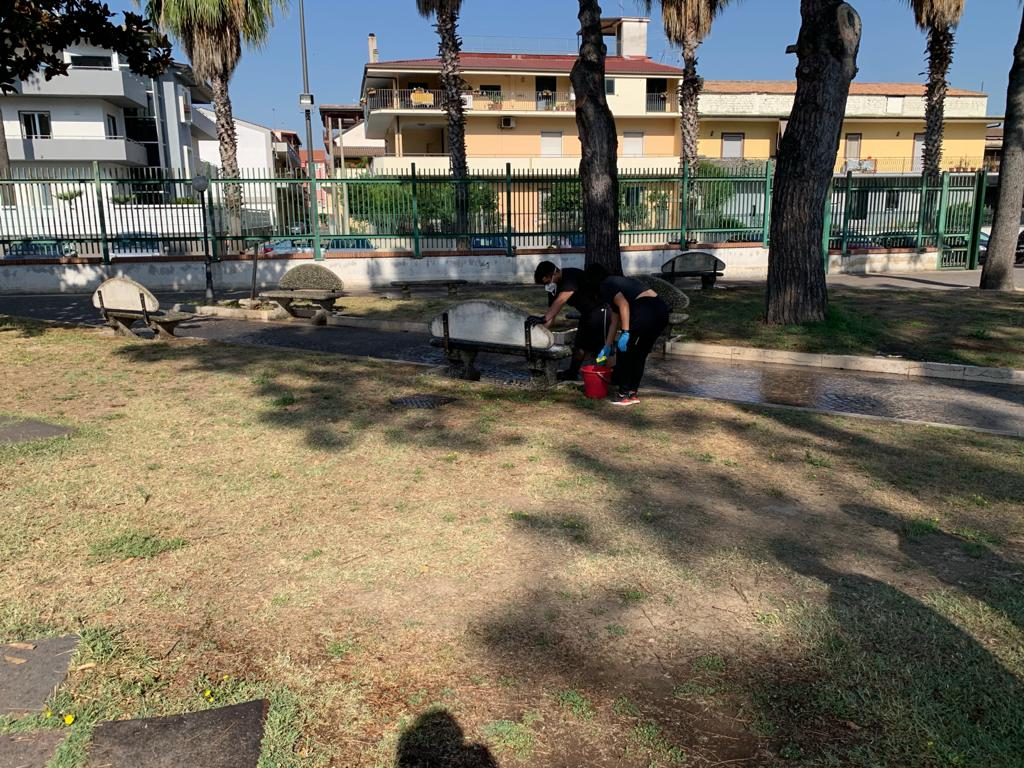 gricignano pulizia parco us navy (7)
