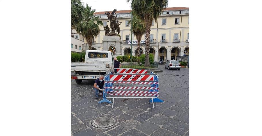 lavori piazza municipio