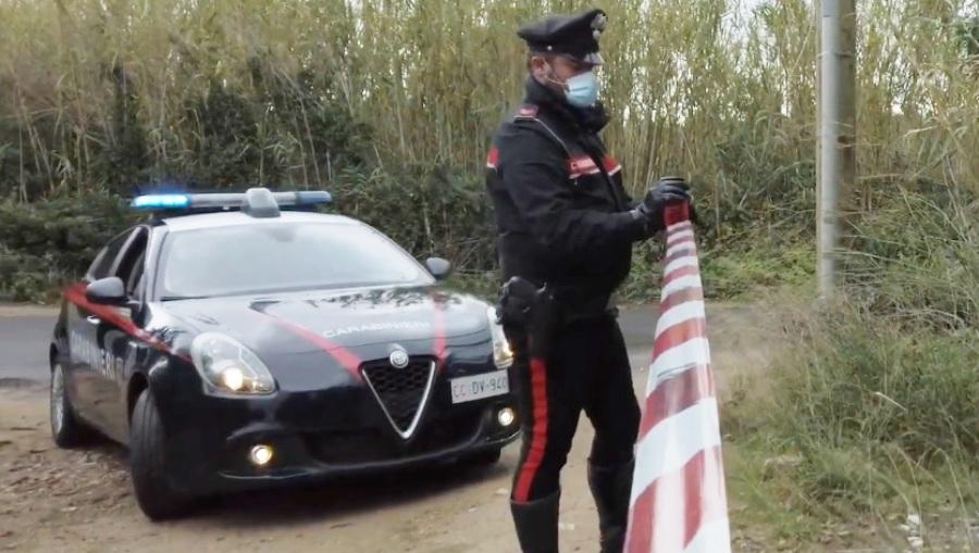 carabinieri omicidio campagna nastro