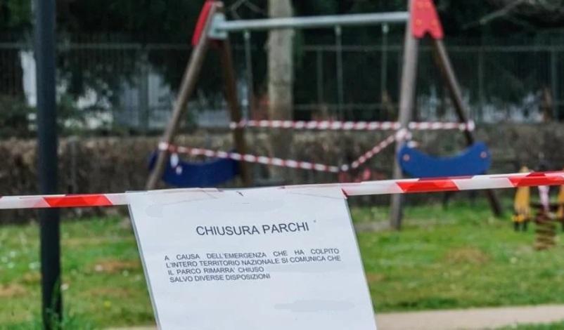parco covid chiuso