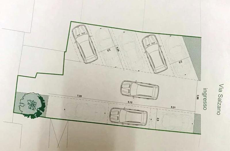 Lusciano, progetto parcheggio via Salzano