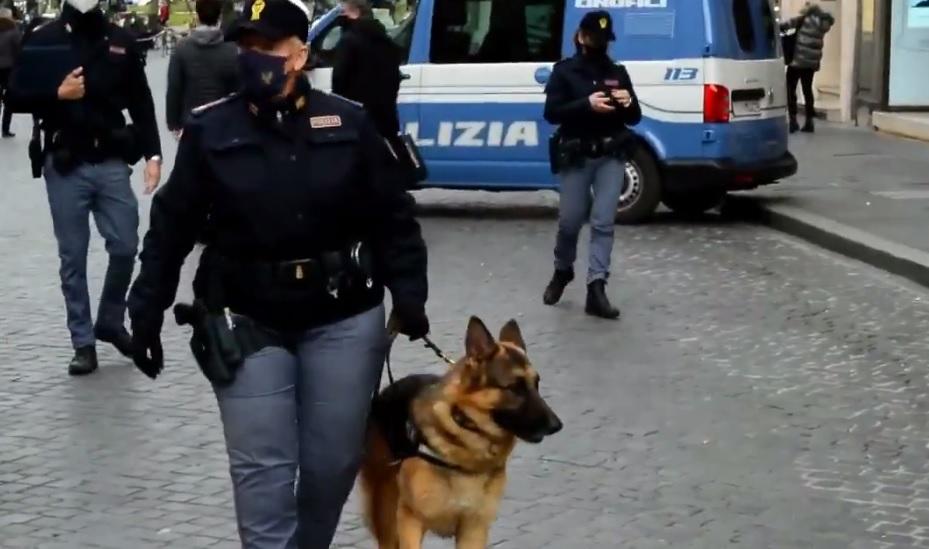 polizia cane