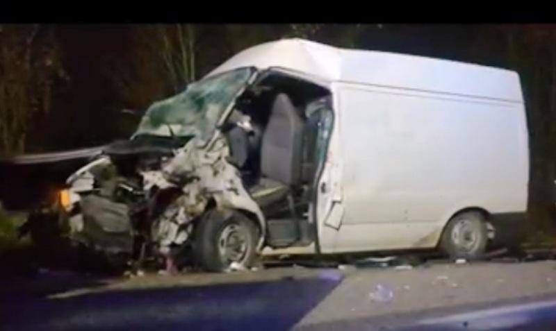 furgone incidente
