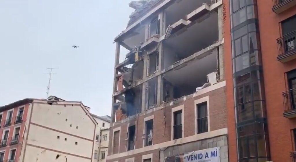 madrid esplosione