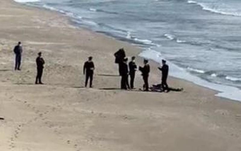 spiaggia morto
