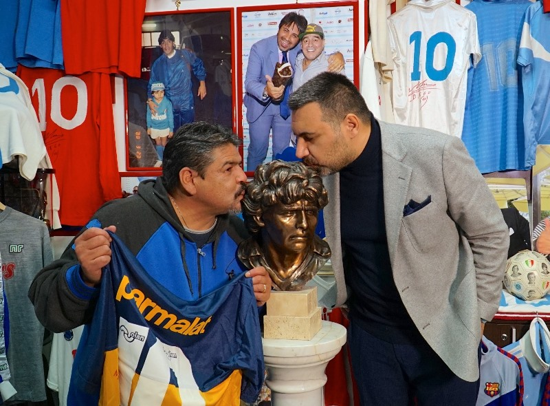 Luise e Ugo Maradona