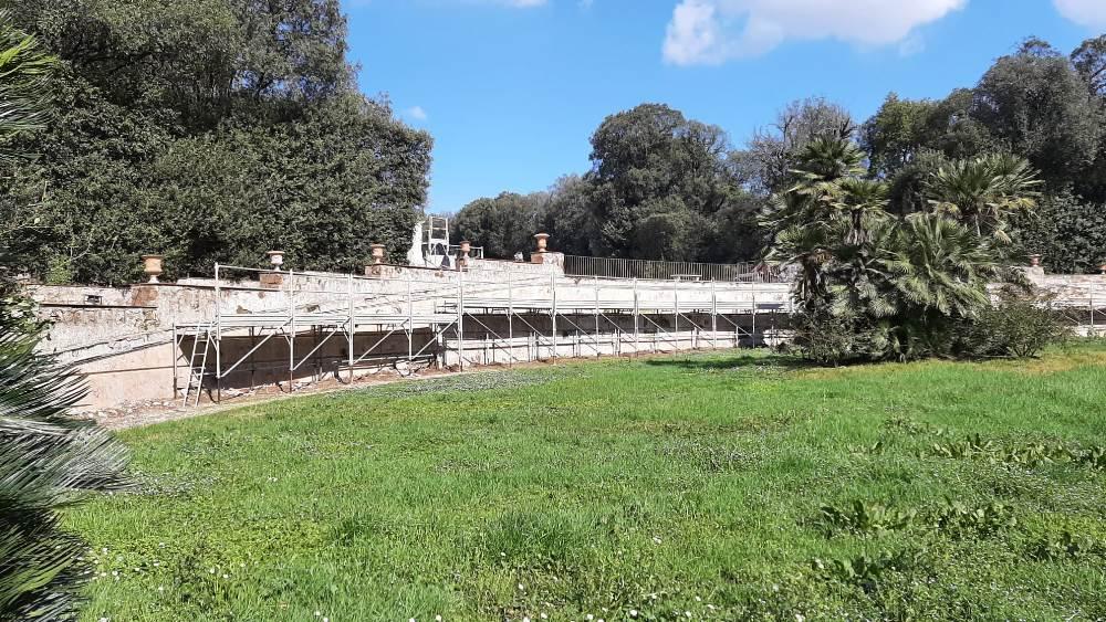 Reggia di Caserta fontana margherita lavori