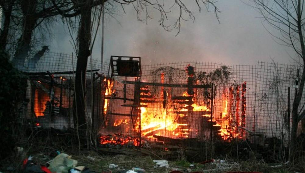 baracca incendio