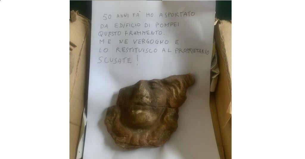 pompei scavi reperto