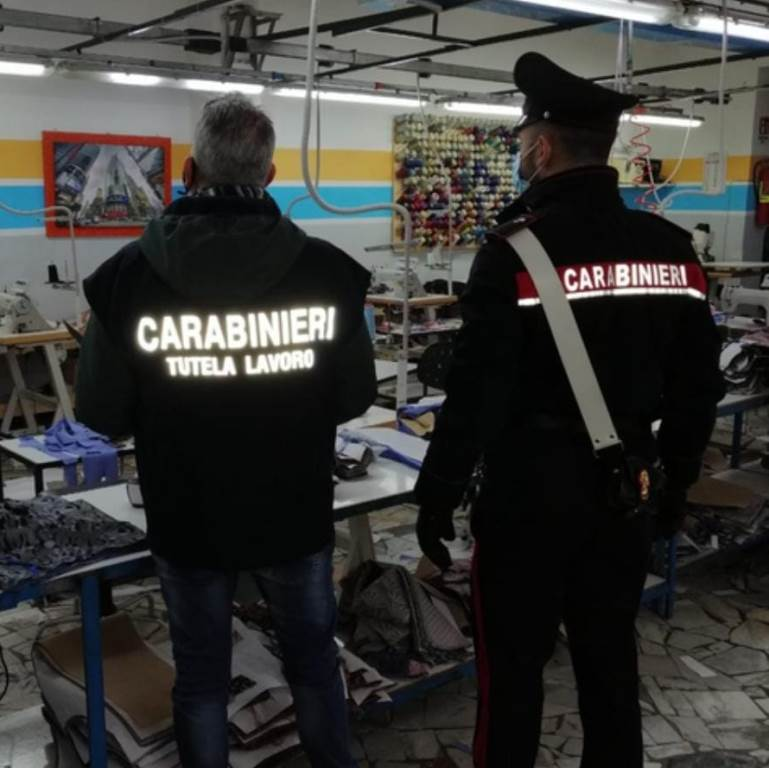 carabinieri lavoro