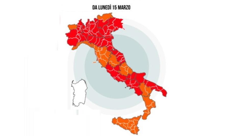 covid italia dal 15mar21