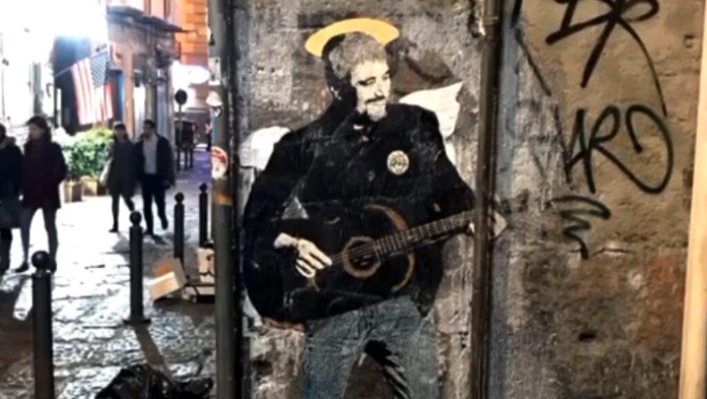 pino daniele mural
