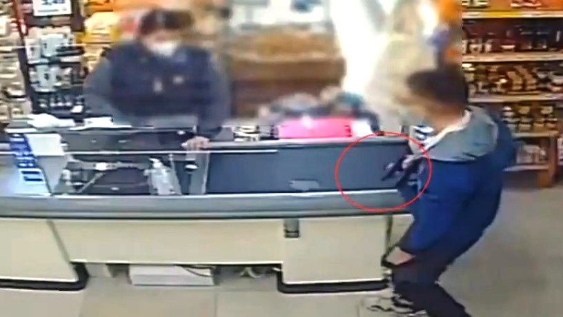 rapina supermercato