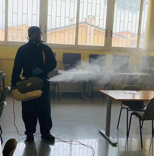 scuola covid sanificazione1