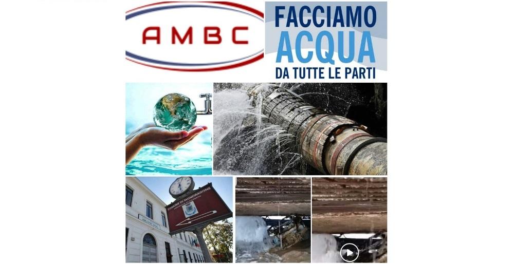 Logo AMBC – Il diluvio che rischia di abbattersi sul Consorzio idrico