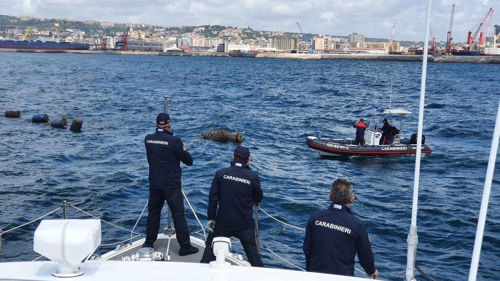 carabinieri napoli pesca