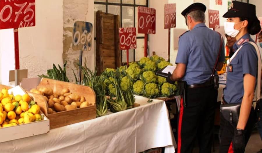 carabinieri ortofrutt mercato