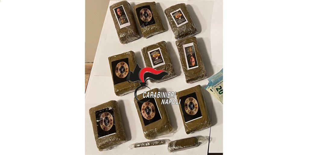 hashish carabinieri napoli