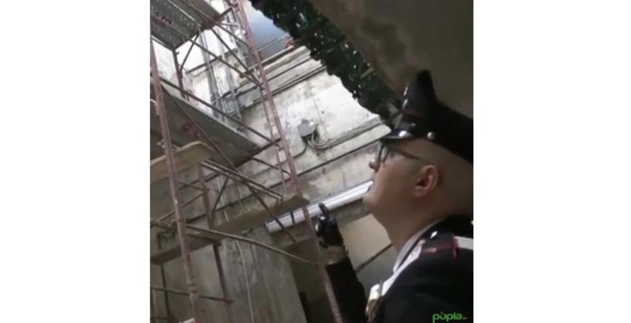 impalcatura carabinieri