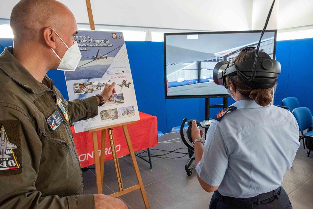 Scuola Specialisti A.M. – Realtà virtuale nel campo della manutenzione aeromobili