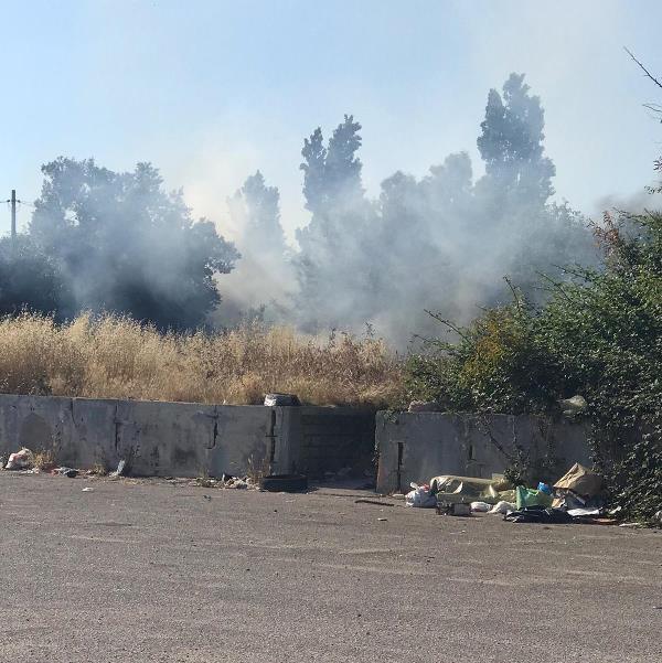 carinaro incendio rifiuti (3)