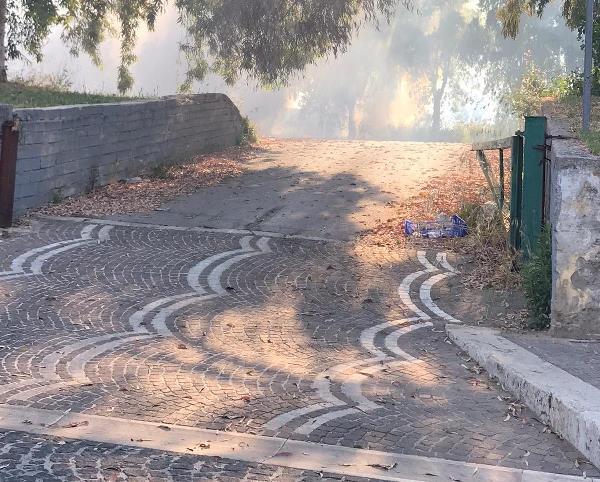 carinaro incendio rifiuti (4)