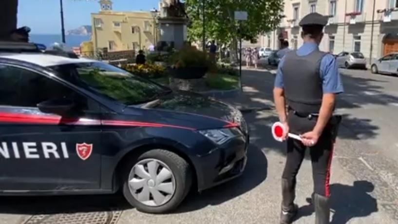 pozz carabinieri posto blocco