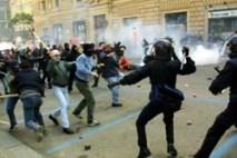 Napoli Incidenti2001