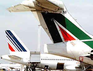 Air France conferma interesse per Alitalia