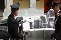 Carabinieri Droga Tir